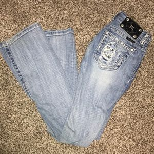 Size 25 miss me boot jeans